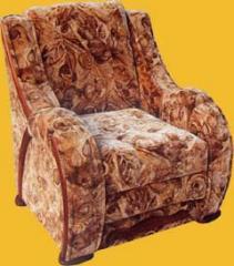 Кресло мягкое `Орхидея`