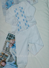 "Christening for the baby"" clothes set. A"