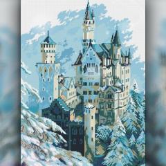 Алмазная вышивка The Wortex Diamonds Зимний замок