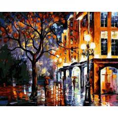 Картина по номерам VP066 Дождь в Майами. Худ.