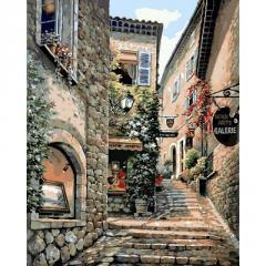 Картина по номерам Лестницы старого города. Худ.