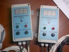 The relay is temperature,  RTK-10 (temperatur
