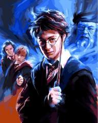 Картина по номерам VP1117 Гарри Поттер, 40x50 см.,