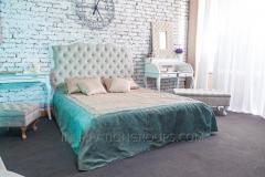 La cama el Camafeo de matrimonio