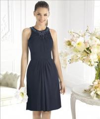 Коктейльное и вечернее платье № 5007