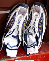 Обувь льняная
