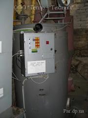 Solid propellant E250 steam generators
