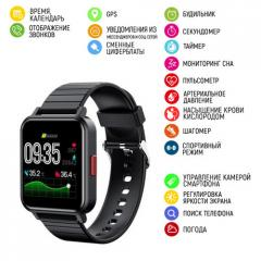 Умные часы Modfit ZL12T All Смарт-часы Black