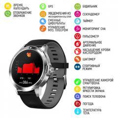 Умные часы Modfit K15 Смарт-часы Black-Silver