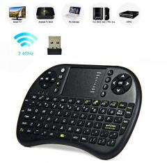 Беспроводная мини клавиатура с тачпадом, ...