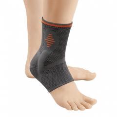 Orliman Sport спортивный мягкий бандаж голеностопного сустава с подушечками из техногеля