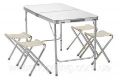 Усиленный складной столсо стульями для...
