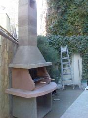 Street furnaces of a barbecue, the Street furnace