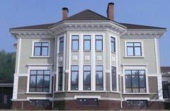Материалы для декоративного украшения фасада