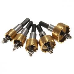Набор коронок по металлу Binoax HSS, 5 шт, 16-30