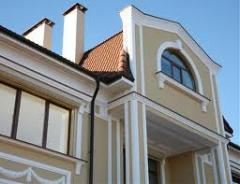 Stucco molding for decoration of a facade, Kiev