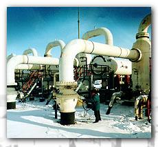 Equipment for the gas industry