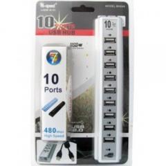 USB хаб разветвитель 10 портов Спартак