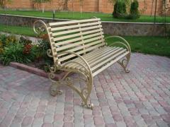 Уличная мебель кованая