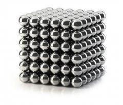 Неокуб никелевый 216 шариков 5 мм Silver (8190)