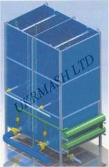 The contact filter with floating loading.