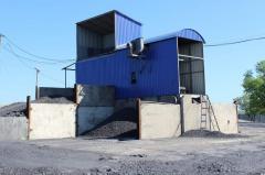 Модульная установка для обогащения угля -