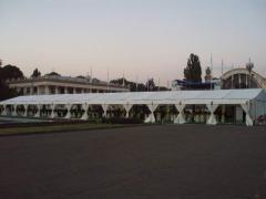Nakrytiya awning for summer cafes under the order