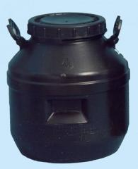 Flask for chemicals of 40 l for paint, ave.