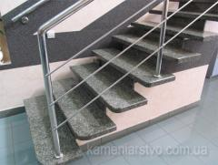 Monuments from granite, fireplaces from granite,