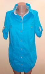 Рубашка женская Tatu с коротким рукавом р.52-54
