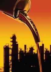 Semi-synthetic oil