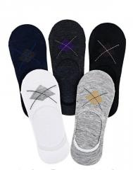 Носки-следы мужские с силиконом на пятке набор 10