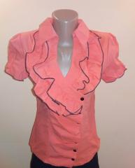 Блуза женская Fashion с коротким рукавом р.42