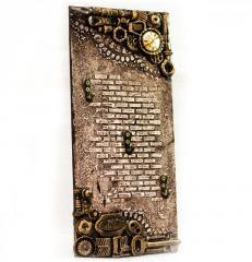 Ключница на стену в стиле Steampunk Подарок на