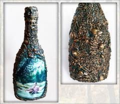 Графин бутылка а подарок рыбаку. Рыбацкие сувениры