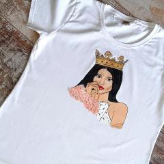 Женская футболка с рисунком Ручная роспись Подарок