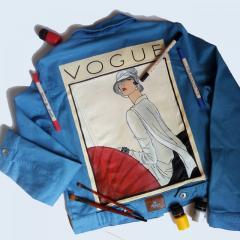 Любой рисунок на Вашей джинсовой куртке или