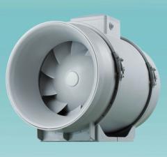 Вентиляторы для круглых, прямоугольных и