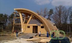 Construction of dome houses