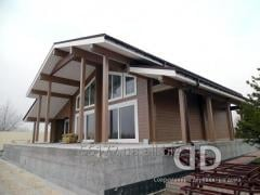 Arkhtetny and design engineering of wooden houses,