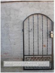 Калитки, ворота, заборы  металлические от