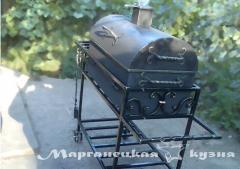 Кованные мангалы, грили и барбекю в Украине