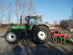 Deutz Fahr Agrostar 6.81 tractor
