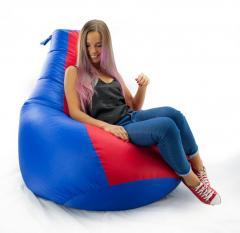 Кресло-мешок груша Комби из ткани Оксфорд Стронг