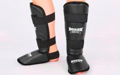 Защита голени и стопы кожвинил M Boxer Sport...