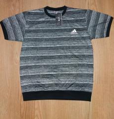 Мужская футболка Adidas в полоску р.52-54