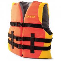 Спасательный жилет взррослый Intex 69681, 40кг и