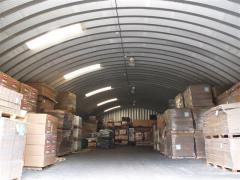 Hangars are bezkarkasny arch