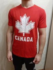 Футболка мужская Canada р.46-48 Красная