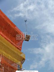 Сетка строительная оградительная
